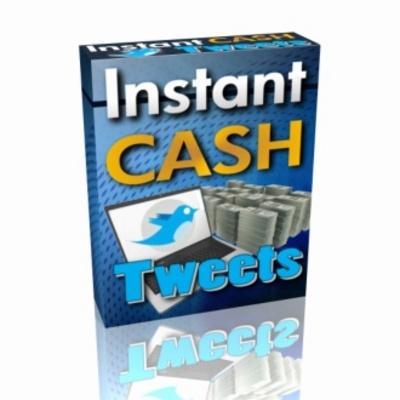 Product picture instant cash tweets