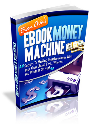 Product picture ebook money machine
